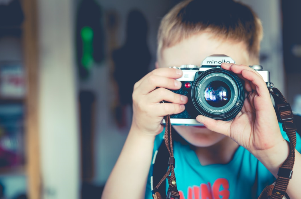 tips for kid with camera